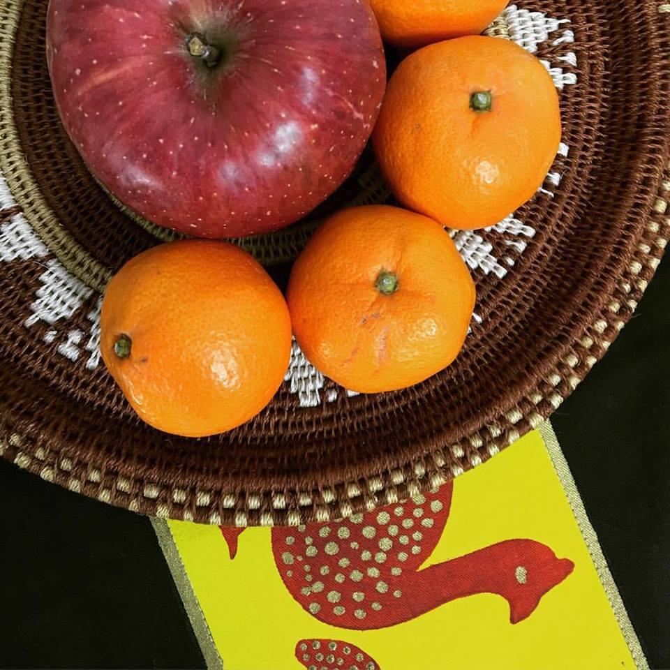 リンゴとミカン
